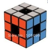 Free shipping of  Lanlan 3x3x3 Void Puzzle Cube Black