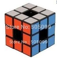 Free shipping of  Lanlan 3x3x3 Void Puzzle Cube Black