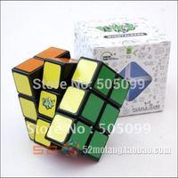 Free shipping of LanLan 3x3x2 Speed Cube Puzzle Brain Teaser White