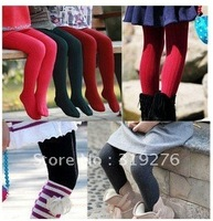 $15 off per $100 order 12pcs/lot  free shipping girl Tights PP pants,children legging, Cotton children tights ,baby Pantyhose