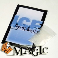 Ice From Water by Andrew Gerard /close-up magic trick / wholesale