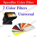 Universal Speedlite Color Filter Kit For Canon Nikon Sony Nissin Metz YONGNUO Oloong Flash