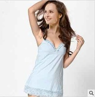 Modal super soft harness Lingerie nightgown wholesale Free shipping