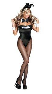 мультфильм кролик кролик косплей haloween партии Костюм маскарадный костюм карнавал костюмы черный кожаный купальник