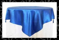 Free shipping-satin  table overlay-table cloth