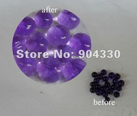 Free Shipping-- 30g (10packs) Purple Water Crystal Jello Ball Wedding Party Shower Table Vase Decoration