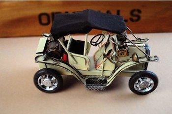 Free Shipping! Classic vintage car, metal handicraft,  Iron car toy, Childhood memory