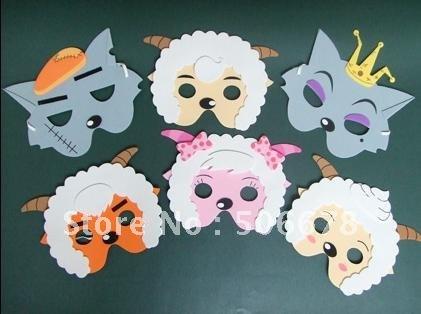 Mascaras de animales salvajes en foami - Imagui