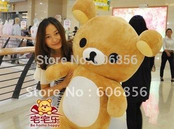 2014 Rilakkuma San-X Super Big Rilakkuma Plush Doll 80cm Best Gift Cheap Price Good PPT Cotton Factory Sale Free Shipping