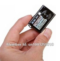 Factory wholesale and dropshipping Worlds Smallest mini Digital Camera Mini DV DVR with package,Free shipping