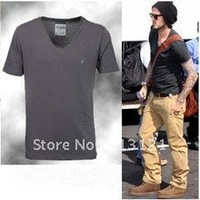 Free shipping New Mens Brand T Shirt +Men's Short Sleeve T Shirt slim fit ,Polo shirt ,cotton,wholesale,4colors ,drop shipping