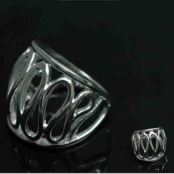 Min.order is $15(mix) R059 Thumb Ring ! High Quality, Silver Ring. Fashion jewellry silver rings(China (Mainland))