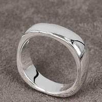 Min.order is $15(mix) R004 ! High Quality,  silver ring. fashion jewellry silver rings Clean Ring