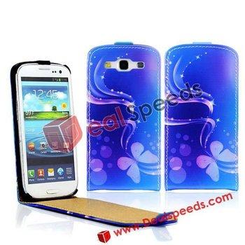 Fancy Flower Leather Flip Case for Samsung Galaxy S3 i9300