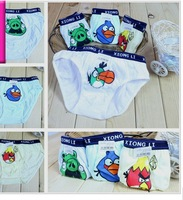 boy children underwear briefs shorts fit 2-10yrs kids baby cartoon cotton panties clothing 12pcs/lot 1size 4style free shipping