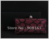 Free Shipping! Fashion women purse, elegant Evening Bag, lady Clutch bag, dinner handbag, Retail&Wholesale
