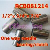 "RCB081214 one way needle bearing clutch, 1/2""x 3/4""x 7/8""    inch 12.7x19.05x22.22mm"