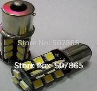 Super Bright  2 pcs/lot 1156/1157 BA15S/BA15D 27SMD 5050 canbus LED Turn/Backup Light Bulbs