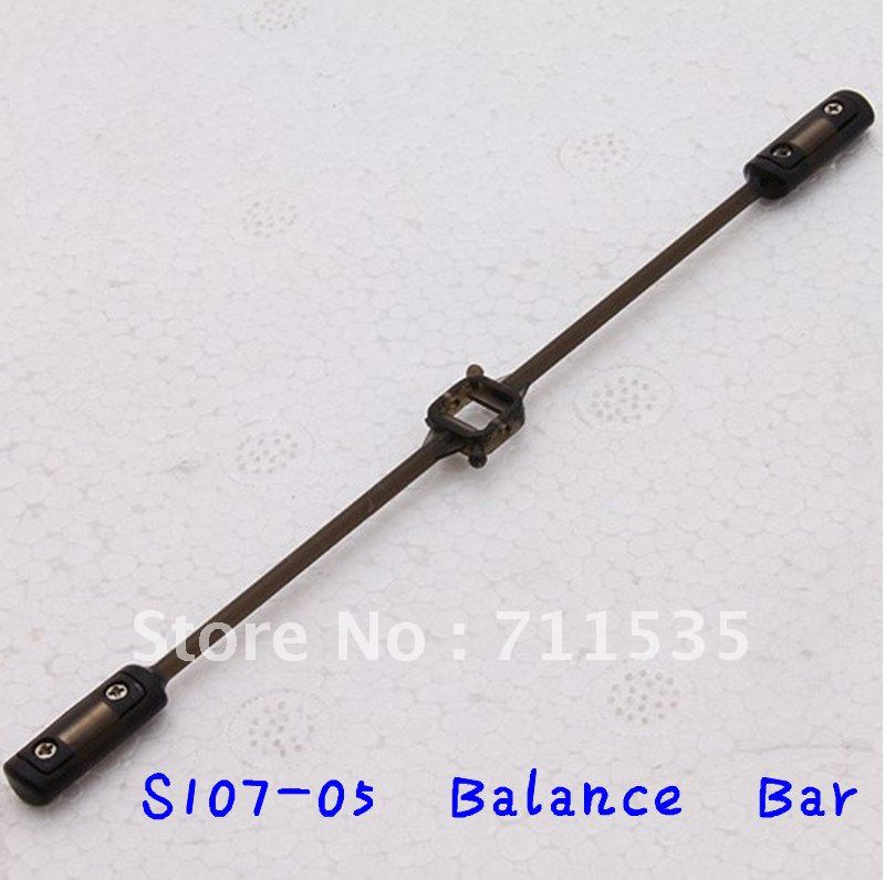 S107-05 Balance Bar Pole Spare Parts For Mini Metal Alloy 3Ch Remote Control Heli With GYRO S107 S107G S105G RC helikopter(China (Mainland))