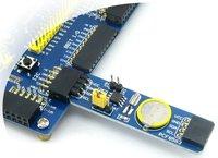PCF8563 RTC Board NXP8563 Clock Wirelss Module 50pcs/lot  free shipping