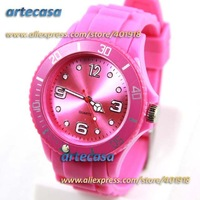 DHL/EMS Free Shipping,2012 Newest 10 Pcs/Lot,ices13 Colors Good Quality 3.8CM Watches With Origin Logos