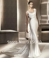 FREE SHIP (HQ)  Bridesmaid Evening Wedding Dress Prom Custom Made Size 6-8-10-12-14  #N604