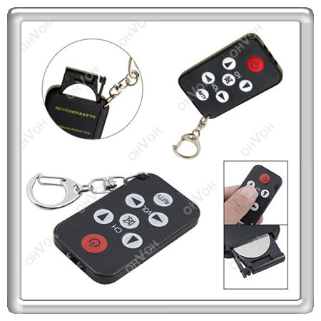 K5Y Universal IR Remote Control Mini Infrared Key Chain Geek Tools For TV(China (Mainland))