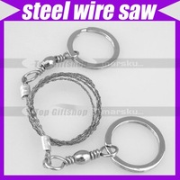 (10pcs/lot)Steel Wire Saw Emergency Camping Hunting Survival Tool #1310
