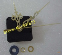 Clock accessories Quartz Clock Movement Kit Spindle Mechanism shaft 12mm with hands free shipping BJ004