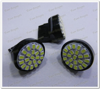 50PCS/LOT 12V T20 1206 7443/7440 22SMD Brake light Turning Parking Lamp