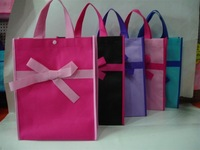 2014 fashion design blank non woven shopping bag wholesale