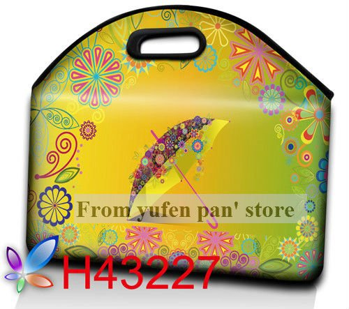 Free Shipping Hot Sell High Quality Customized Nylon Laptop Computer Bag with Handle(China (Mainland))