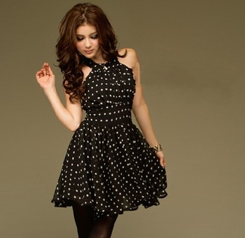 $5 off per $50 Double 118236 polka dot dress