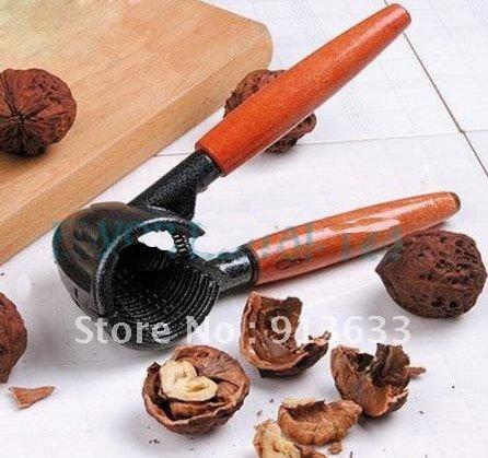 em estoque nova rápida cracker noz sheller quebra-nozes pinça abridor de garrafas(China (Mainland))