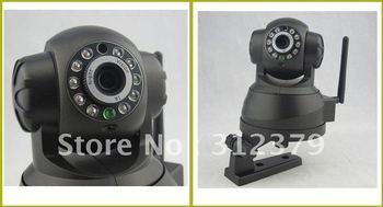 Security Wireless IP Camera WiFi Internet IR Cam WPA Internet Wireless Webcam Web Wi-Fi Internet Dual audio better than FI9808W