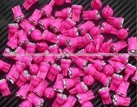 Car Bulbs width lamp backup lamp door lamp T10 194 168 192 W5W 3528 4 SMD LED t10 led light pink/purple free shipping