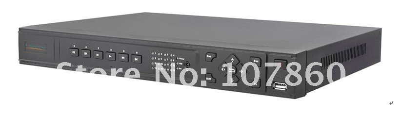 free shipping , Wholesale Dual-core based 16ch HD NVR to support HD 1080P video live view and many brands IP camera, NY-9116A(China (Mainland))