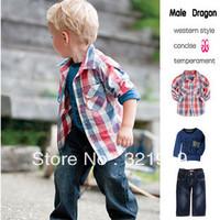 Одежда наборы мужчина дракон xhlq2012016