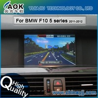 free shipping double din 7 inch touch screen auto multimedia system special car dvd gps navigation for BMW F10