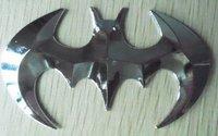 free shipping!3D  Metal batman  stereoscopic Car stickers
