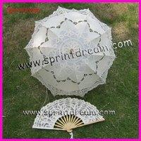 Free shipping!!wedding umbrella/Lace umbrella/Wedding parasol /battenburg lace umbrella