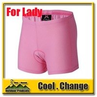 2012 New Cycling Underwear 3D Silicon Padded Woman Bike/Bicycle Shorts/Pants/Boxer CoolMax  Dry-Quick CU007 Free Shipping