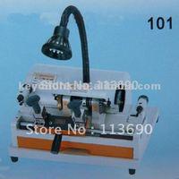 High Quality Double head 101 key copier with External cutter& key cutter machine