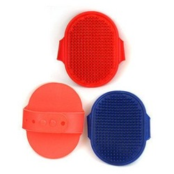 Free shipping!Hotsell Bath rubber pet brush comb, Dog Grooming,wholesale 6pcs/lot(China (Mainland))