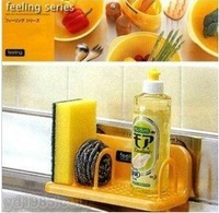 2014 Suction cup racks storage shelf high quality  19.5*9.5*8CM free shipping