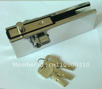 Glass Door Lock Patch Fitting ELY-05A