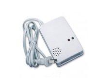 Free Shipping !Security Wireless Smoke Gas Alarm Sensor Leak Detector  433 Mhz Work With Alarm System