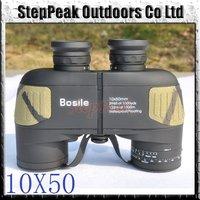 Famous Brand 10X50 Binoculars Telescope,Waterproof & Night Vision 132m/1000m(ATP-058)+Free Shipping