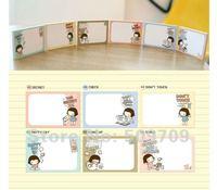 36pcs Cute Cartoon Girl Note Pad Memo Sticker, Creative Korean Stationary Wholesale Free Shipping