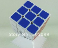 Free shipping Mini DaYan Zhanchi 50mm White magic cube 3x3x3